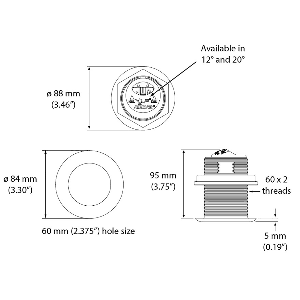 Gemeco | B60 Transducer Profile on